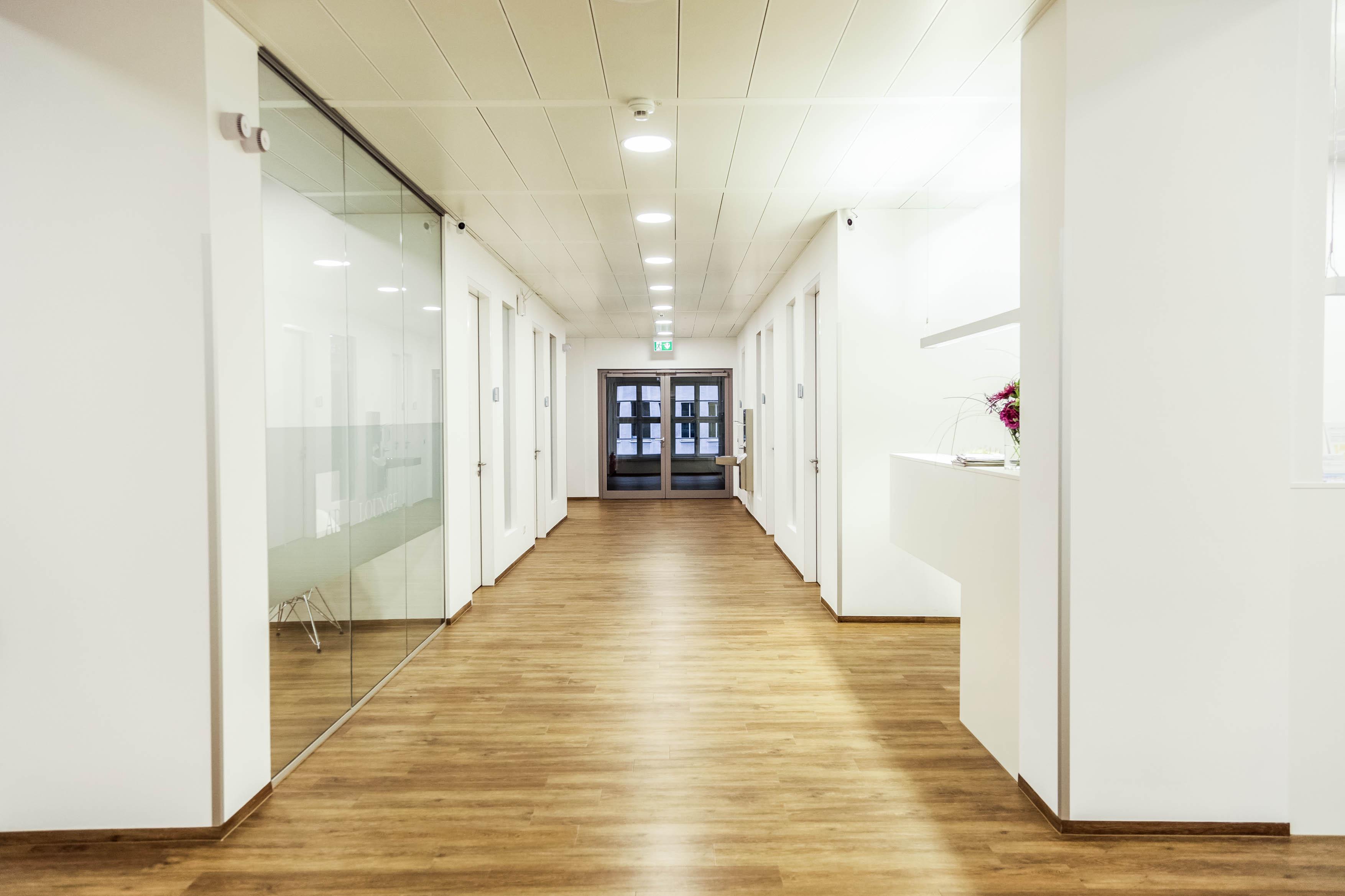 Klinik Neuer Stahlhof Eingangsbereich